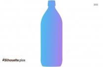 Free Rock N Roll Flask Silhouette
