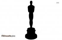 Oscar Winner Trophy Silhouette