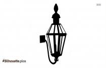 Lanterns Clipart Silhouette