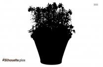 Avocado Tree Clipart || Tree Sapling Silhouette