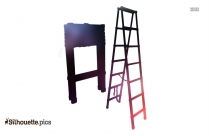 Outline Ladder Silhouette