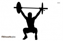 Health And Fitness Silhouette, Workout Clip Art