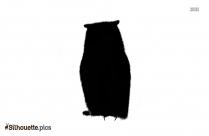 Owl Bird Clip Silhouette Icon