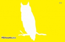 Owl Sitting Illustration Silhouette For Download