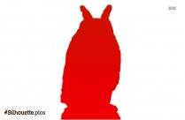 Owl Art Silhouette Image