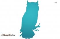 Owl Tattoo Symbol Silhouette