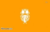 Owl Tribal Art Silhouette