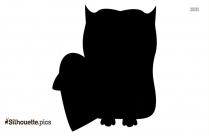 Owl Valentine Silhouette Vector And Graphics