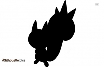 Black And White Bear Pokemon Silhouette