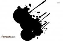 Paint Splatter Clip Art Silhouette
