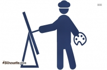 Painter Painting Clipart Silhouette Illustration