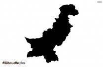 Oman Map Silhouette Vector