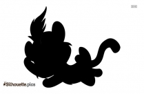 Cartoon Dog Pic Image Silhouette