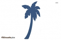 Palm Tree Drawing Silhouette Image And Vector