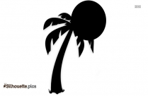 Island Background Silhouette