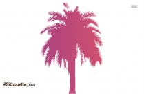 Palm Tree Clipart Logo Silhouette For Download