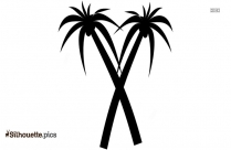 Palm Tree Drawing Silhouette Picture