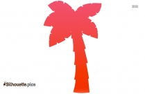 Palm Tree Silhouette Vector And Graphics