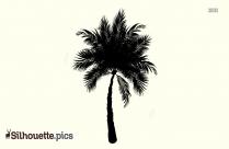 Palm Tree Silhouette Easy