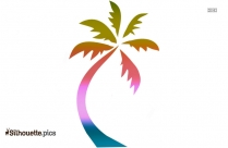 Summer Tree Logo Silhouette For Download