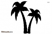 Palm Trees Silhouette Image And Vector