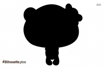 Panda Clipart Silhouette Image