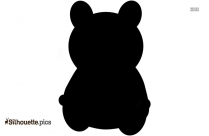 Panda Silhouette Clip Art