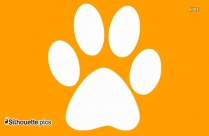 Panther Paw Print Clip Art