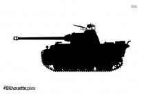 Military Tank Symbol Silhouette Image