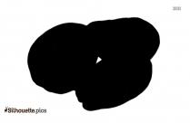 Longan Fruit Silhouette Icon