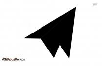 Atom Icon Silhouette