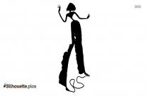 Paper Sculpture Clipart || Girl Art Silhouette