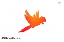 Parrot Silhouette Clipart