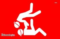 Olympic Judo Silhouette Sport Icon
