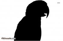 Indian Bird Parrot Silhouette Free Vector Art