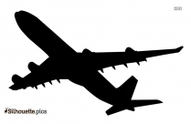 Aeroplane Silhouette Vector Art And Graphics