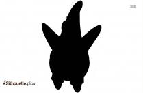Cartoon Characters Spongebob Patrick Silhouette