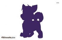 Paw Patrol Fanon Dog Silhouette Image