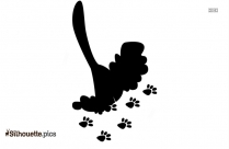 Blues Clues Paw Silhouette