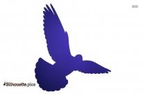 Blue Jay Bird Silhouette