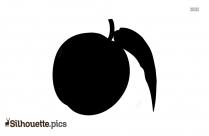 Peach Clipart Silhouette