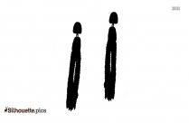 Earring Jackets Silhouette Image