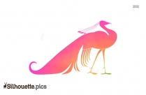 Colorful Hibiscus Flower Vector Silhouette
