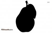 Cartoon Cherry Fruit Silhouette