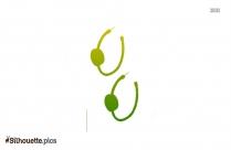 Hoop Earrings Silhouette Drawing Download