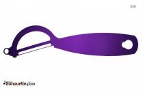 Peeler Symbol Silhouette, Vector Art