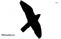 Blue Jay Bird Vector Silhouette