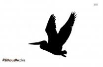 Cartoon Bufflehead Birds Silhouette