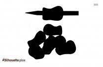 Gel Pen Tip Silhouette Art