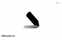 Arrow Pen Silhouette Icon